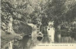 77 - VERNON - Vue Dans Le Bras St-Jean - 1913 - Vernon