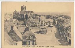 CASSEL Mont Casssel  Un Coin De La Place  Et L'Eglise - Cassel