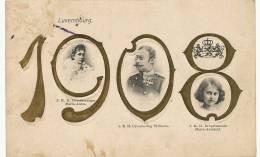 Année 1908 Gaufrée Maria Anna , Grossherzog Wilhelm, Maria Adelheid - Sin Clasificación