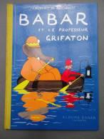 Album Babar Hachette - Laurent De Brunhoff - BABAR Et Le Professeur Grifaton  - Mars 1990 - Livres, BD, Revues
