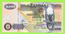 ZAMBIA -  100  Kwacha  2007 SC  P-38 - Zambia