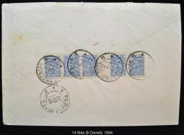 14164 Série De 5 Avec Interpanneau De Vladimir Gub à Rbjitsa Viteb 17/10/1912 - 1857-1916 Empire