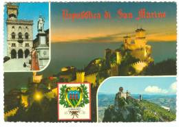 Repubblica Di San Marino, Used Postcard [13907] - San Marino