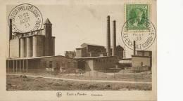 Esch Sur Alzette Cimenterie Edit Nels Expo Philatelique 1933 Cachet Edit Schaack - Esch-Alzette