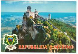 Repubblica Di San Marino, Seconda E Terza Torre, Unused Postcard [13908] - San Marino