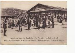 Macedoine 1053 Yenidjé Vardar Pretres Au Marché Edit Lib. Française Salonique - Macédoine