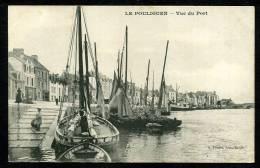 44 - LE POULIGUEN - Vue Du Port - CARTE PRÉCURSEUR - Le Pouliguen