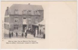 18001g HOTEL De L'AIGLE - CAFE - BILLARD - Salon De Coiffure - Voitures - Cigares - Place Hotel De Ville  - Walcourt - Walcourt