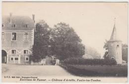 18002g CHATEAU D'ARVILLE - Des ARCHES - Faulx-les-Tombes - Série 4 Cartes - Gesves
