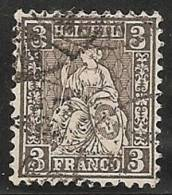 SUIZA 1862 - Yvert #34 - Precio Cat. €60 - Usati