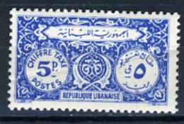 1947 - LIBANO - LEBANON - Scott Nr.  J48 - Mi 48 - LH - (S02052013.....) - Libano