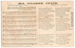 Chanson  Partition X 2 - Ma Grosse Julie 127 / Ma Normandie 224  H.J.W. - Music And Musicians