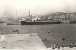 ALGER - LE PORT - Le TSS STRATHMORE Et Le SS VAN OLDENBARNEVEILT Font Escale - 1936 - 2 Scans - Boats