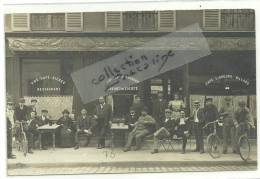 CPA  Bière Demory, Café Restaurant, Cabinet De Société,belle Animation Enterrase, Non Localisé,10 Août 1910 - Cafés