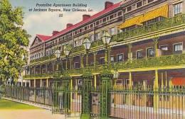 Louisiana New Orleans Pontalba Apartment Building