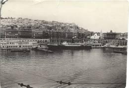 ALGER - Vue Panoramique Partie Du Port Et De La Ville D´Alger -1936 - 2 Scans - Schiffe