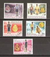 Papua New Guinea 1978 Police & Constabulary Set 5 FU - Papouasie-Nouvelle-Guinée