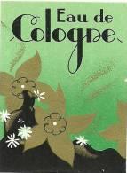 Etiquette Parfum Réf.010. Eau De Cologne - Etiquettes