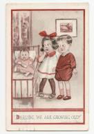 Darling, We Are Growing Old - Enfants, Bébé Biberon - Ed T.P & Co - Humorous Cards