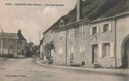 AMANCE - Rue Des Roches - France