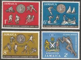 Jamaica. 1965 Ninth Central American And Caribbean Games, Kingston. MH Complete Set - Jamaica (1962-...)