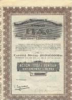 Industries Et Transports Automobiles Au Congo - ITAC - 1928 - Afrique