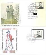 1965    2 Ersttagsbriefe  100.Todestag Von Adolf Kolping - BRD