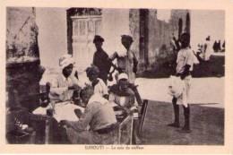 Cartolina Djibouti - Gibuti. Le Coin Du Coiffeur. Anni´30 - Gibuti