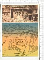 DEBARQUEMENT En NORMANDIE  - Batterie De  LONGUES SUR MER  - 2 Vues - Guerre 1939-45