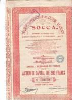 Société Commerciale Du Centre Africain - SOCCA' - 1927 - Afrique