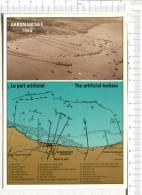 DEBARQUEMENT En NORMANDIE  - ARROMANCHES  -  Le Port Artificiel -  Plan - Guerre 1939-45