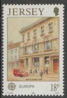 Jersey 1990 Mi 508 YT 502 SG 517 ** Head Post Office, Broad Street (1969) / Postamt / Bureau De Poste – Europa Cept - Post