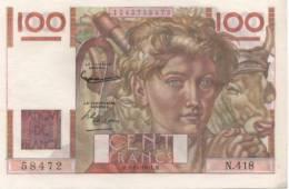 BILLET DE 100 FRANCS (1951) - 1871-1952 Antichi Franchi Circolanti Nel XX Secolo