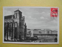 GENEVE. L'Eglise Notre-Dame Et La Gare Cornavin. - GE Geneva
