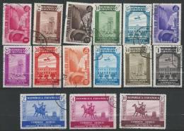 ESPAGNE - Série Complète De L'Association De La Presse à Madrid Et Don Quichotte Oblitérée - Luchtpost