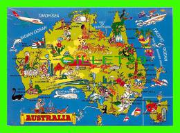 MAPS - AUSTRALIA - CARTE GÉOGRAPHIQUE - - Cartes Géographiques