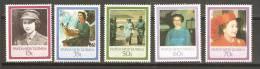 Papua New Guinea 1986 QEII Birthday Set 5 MNH - Papua Nuova Guinea