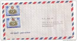 AM - 11536 - Lettre Avion Envoyée Du Pérou Suisse 1967 - Perù