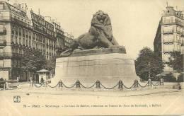 PARIS 14 - Le Lion De Belfort, Réduction En Bronze....       -- Ph Et Cie 75 - District 14