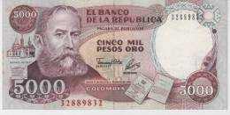 Colombia, 5000 Pesos , 1993 , XF. - Colombia