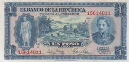 Colombia , 1 Peso 1953 , AUNC. - Colombia