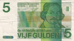 Billets -  B747 - Pays Bas    - Billet  5 Gulden ( Type, Nature, Valeur, état... Voir 2 Scans) - [2] 1815-… : Reino De Países Bajos
