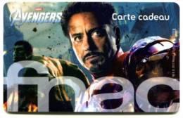 @+ Carte Cadeau - Gift Card : FNAC : AVENGERS (CARTE C). - France
