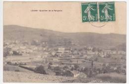 CPA - COURS (Rhône) - Quartier De La Fargette - Other Municipalities