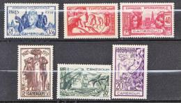 CAMEROUN EXPO 1937 N� 153/58  NEUF** TTB
