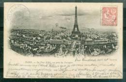 Paris La Tour Eiffel , Vue Prise Du Trocadéro    - Bci41 - Eiffelturm