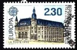 Frankreich / France: ´Europa - Post, 1990´ / ´Établissements De Postaux´, Mi. 2770; Yv. 2642; Sc. 2218 Oo - Frankreich