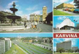 Ak Karviná, Karwin, Mehrbildkarte - Tschechische Republik