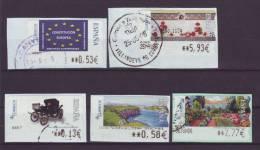 SPANIEN - 2005 - ATM - Aus MiNr. 154-166 - Gestempelt - 1931-Heute: 2. Rep. - ... Juan Carlos I