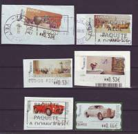 SPANIEN - 2004 - ATM - Aus MiNr. 143-153 - Gestempelt - 1931-Heute: 2. Rep. - ... Juan Carlos I